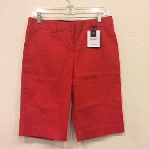 Express red shorts 2305-🌼